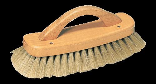 Brosse avec poignée pour lustrer les chaussures