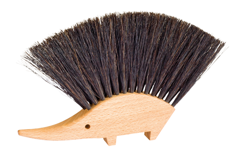 table brush-hedgehog