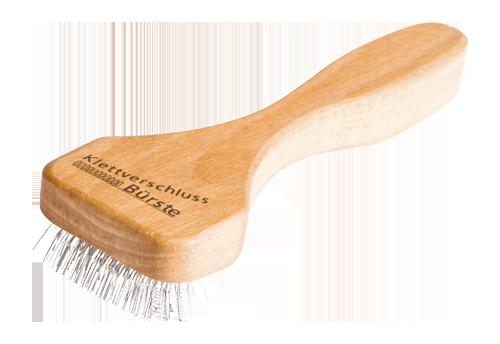 Klettverschlussbürste