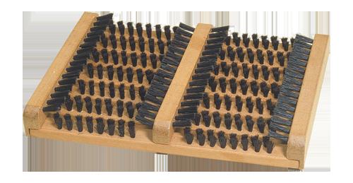 doormat with side scrapers