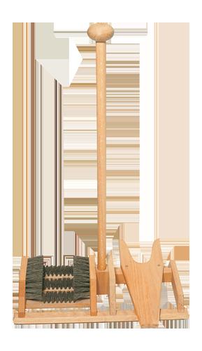 Fußabtreter mit Stiefelknecht