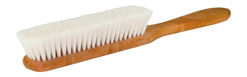 book dust brush