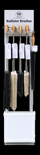 display unit radiator brushes