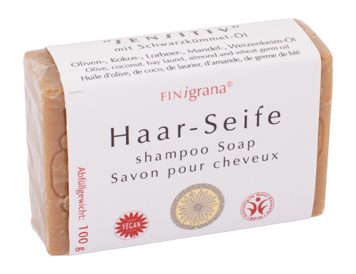 "Haar-Seife – ""Sensitiv"""