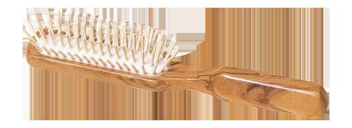 Brosse à cheveux en bois