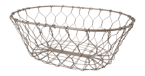 Panier en fil métallique
