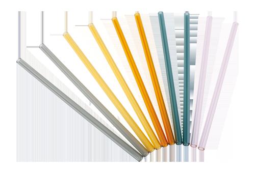 Glastrinkhalm