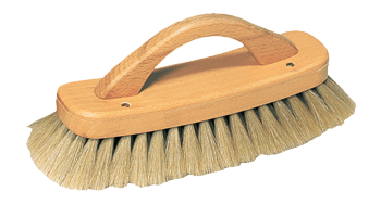 shoe shine brush with handle