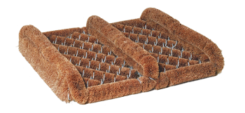 Kokos-Fußabtreter mit Seitenleisten