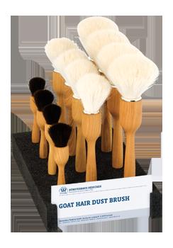 dust brush display
