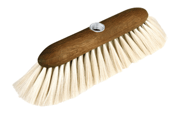 goat hair broom