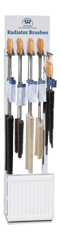display unit radiator brushes