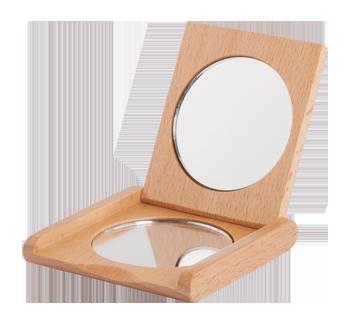 Miroir pliant de poche