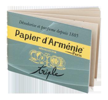 air freshener: papier d'armenie