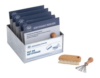 Set de brosses pour nettoyer les brosses à cheveux
