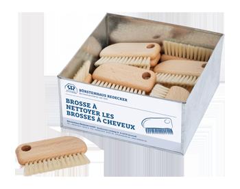 Brosse pour nettoyer les brosses à cheveux
