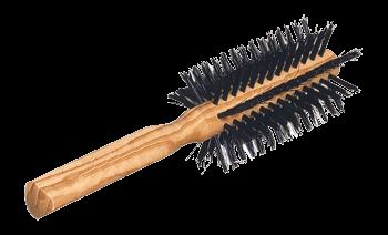 round hairbrush