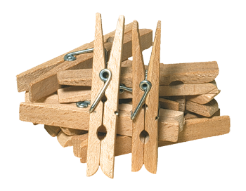 children´s clothes pegs