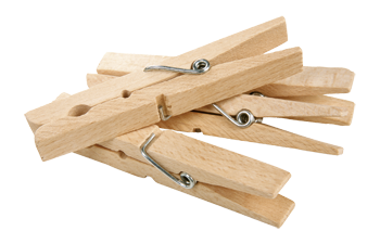 "wooden clothes pegs ""Jumbo"""