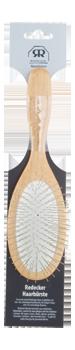 Brosse à cheveux métallique pour cheveux longs