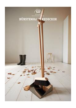 """poster """"Dustpan/brush set"""""""