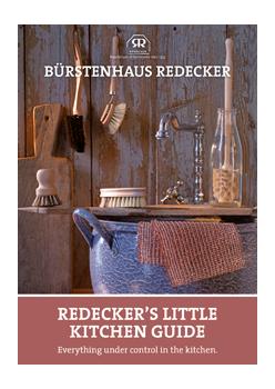 "brochure ""Redecker's little kitchen guide"""