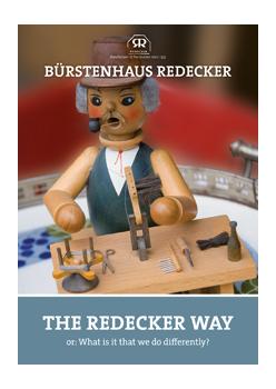 """brochure """"The Redecker way"""""""