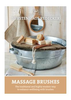 "brochure ""Massage Brushes"""
