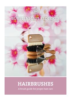 "brochure ""Hairbrushes"""