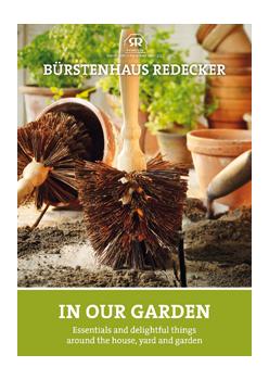 """Brochure """"In our garden"""""""